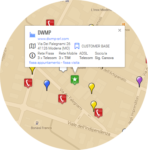 software di geomarketing e georeferenzazione
